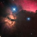 Flame & Horsehead Nebula,                                Jacek Bobowik