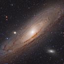 M31 Great Andromeda Galaxy HaLRGB,                                Leo Shatz