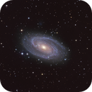 Bode 's Galaxy  - M81 in LRGB,                                Arnaud Peel