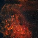 IC 405 Flaming Star Nebula,                                Rick Provencher