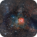 Trifid Nebula (M20),                                Juan P. Ramón