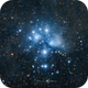 Quick try of the Pleiades,                                Björn Hoffmann
