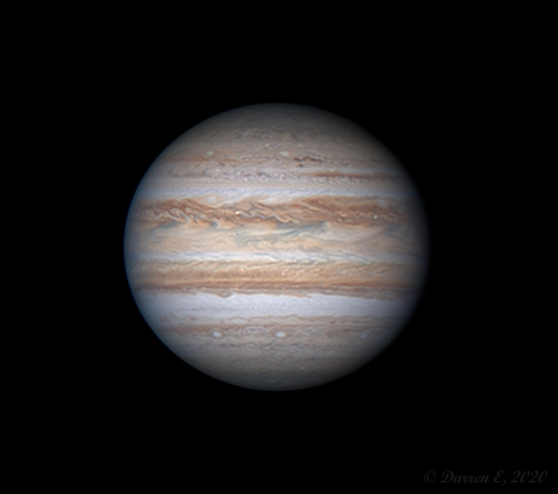 Jupiter (with animation): 2020-06-02 18:37 UT,                                Darren (DMach)