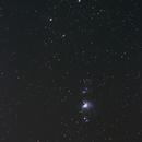 Nebulas in Orion, Wide Field.,                                  Walt Schnapp