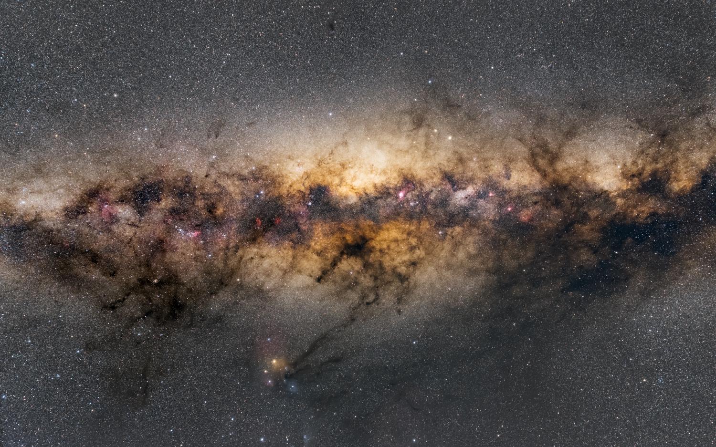 Milky Way Center,                                Péter Feltóti