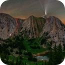 Neowise Over the Bridger Mountains, MT - Revisited,                                Shane