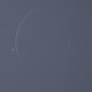 Venus and Moon, ZWO ASI174MM, 20200619,                                Geert Vandenbulcke