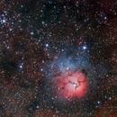 Nebulosa Trífida,                                J_Pelaez_aab