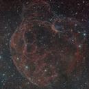 Simeis 147/ Sh2-240  (Spaghetti Nebula),                                Wilson Yam