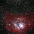 Lagoon Nebula,                                Tobias Kramer