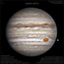 Jupiter and Io 06-30-2018,                                Samuel Granovsky