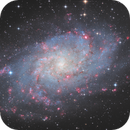 M33 GALAXIE DU TRIANGLE,                                Anthony Husson