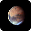 Mars animation from 3 separate days,                    Niall MacNeill