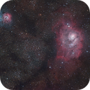 M8 / M20 Lagoon and Trifid Nebula,                                Martin Palenik