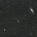 M31 & M33,                                Laurent Fournet