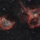 The Soul & Heart Nebula Mosaic,                                Marcel Nowaczyk