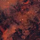 NGC7000 North America Nebula (or part of it at least),                                brad_burgess