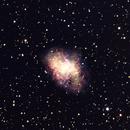 NGC 1952 (Crab Nebula),                                gfryhof