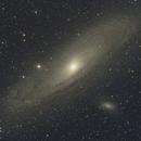 M31 Andromeda Galaxy,                                Patrick Holland