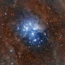 M45 Pleaides widefield,                                Artūras Medvedevas
