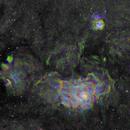 M8 Lagoon Nebula and M20 Trifid Nebula – S2HaO3,                                equinoxx