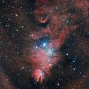 NGC2264 HaLRGB,                                Andreas Zirke