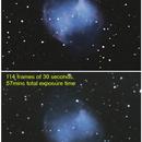 M27 Exposure/Total Integration Time Comparison,                                Alientrader