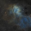 sh2-132 - Lion Nebula!  SHO,                                Martin Palenik
