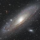 M31 LRGB +Ha,                    Christopher Gomez