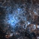 NGC 2070 - Tarantula Nebula HST palette ,                                George Papanicolaou