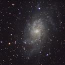 small sensor, big galaxy - yet another M33,                                Matt Fulghum