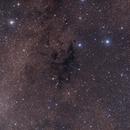 Lynds' Dark Nebula Nos. 673, 675, 676, 683 and the Open Cluster Berkeley 43,                                Dean Jacobsen