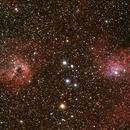 IC405 et IC410,                                Philastro