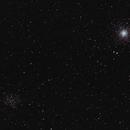 M53 and NGC 5053,                                George Simon