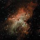 Eagle Nebula,                                Rick Gaps