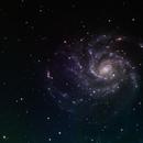 M101: The Pinwheel Galaxy,                    orangemaze