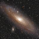 Andromeda Galaxy (Revisited),                                Charles Ward