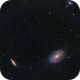 M81 & M82 Bode and Cigar Galaxies,                                nerdybeardo