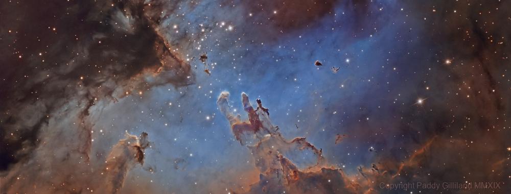 M16 - The Eagle Nebula,                                  Paddy Gilliland