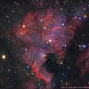 North American / Pelican nebula,                                Ron Kramer