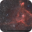 IC 1805 - The Heart Nebula in HaRGB,                                  Christophe Perroud