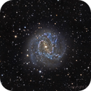 M83 galaxy,                                RCompassi