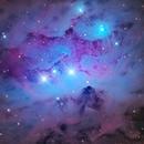 NGC 1977, Blue Reflection Nebula in Orion,                                José Joaquín Pérez