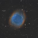 NGC7293 (Helix Nebula) & Asteroid 1993 GC1,                                Ahmet Kale