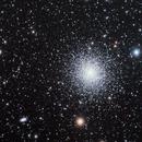 M13 Great Globular Cluster in Hercules,                    Richard Pattie
