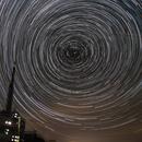Filé d'étoiles au Pic du Midi,                                Bernard Tournois