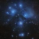 Pleiades LRGB,                                Mark Holbrook