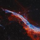 Western Veil   -   NGC 6960,                                Lars Stephan