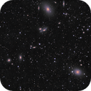 A part of Markarian's Chain and M87 with it's Jet,                                pmneo