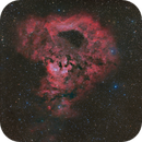 NGC 7822 with SH2-170 HaOIII-RGB,                                Paul Schuberth